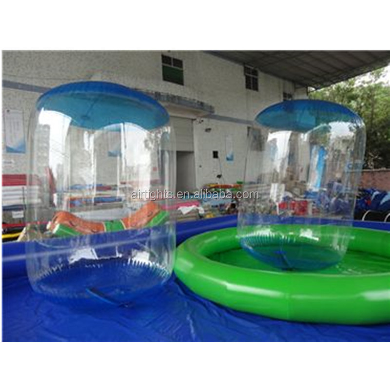 Cheap Inflatable Water Roller Balloon,Water Zorb with TIZIP zipper