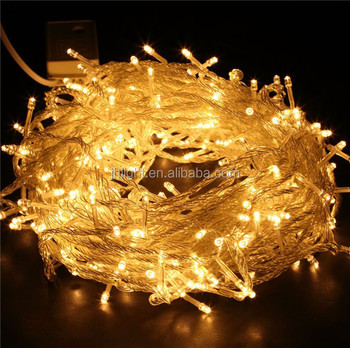 20m outdoor connectable led light chain 24v decorative light chain outdoor led christmas tree