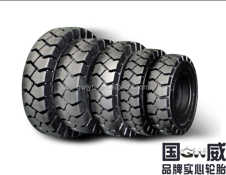 Top Seller Good Price Forklift Solid Tire 27x10-12, Solid Tires for New/Used Forklift