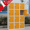 Colorful Vertical 15 Door Digital Locker / Steel Parcel Locker