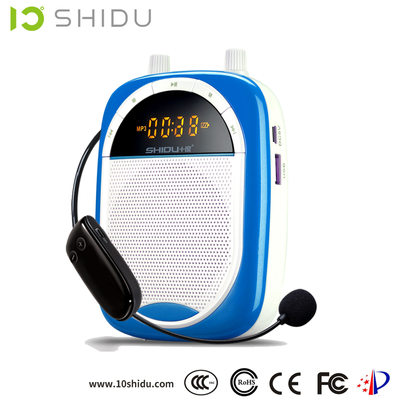 Loud Portable Voice Amplifier SD-S610 Rechargeable Audio Voice Amplifier Megaphone headset microphone Speaker Teach Sports