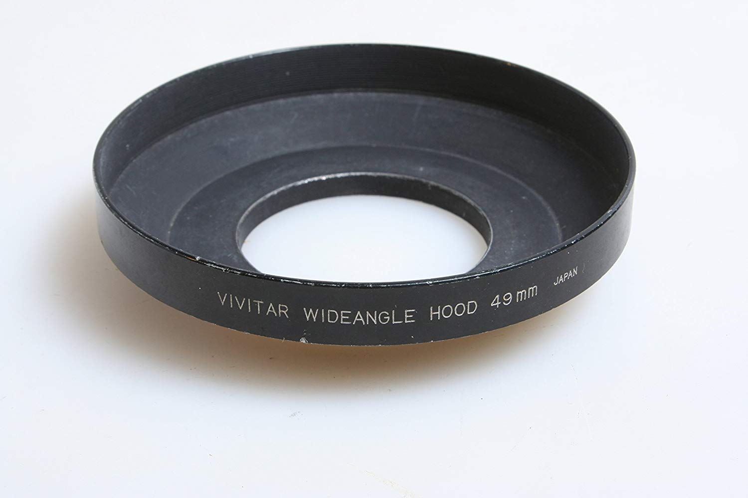 VIVITAR WIDE ANGEL 49MM SCREW MOUNT SLR CAMERA METAL LENS HOOD
