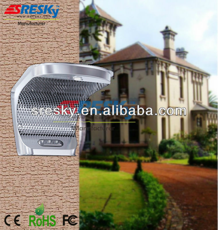 High quality low prices Rechargeable battery solar wall light for house gate, house number