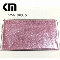 B0310 Factory Bulk Wholesale 1/256'' Pink Glitter Powder for Christmas Decoration