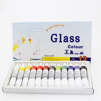 Diy 12 Colors Waterproof Glass Color Acrylic Paint Set Buy Glass Color Acrylic Paint Set Poster Color Paint Set Acrylic Paint Sets For Children