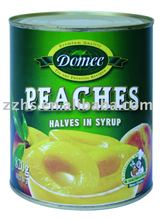 Canned peaches halves, peach,canned fruit