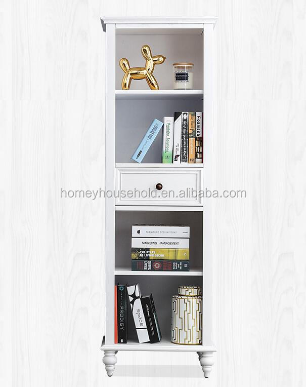 Best Seller Wooden Bookcase/Side Cabinet with Drawer