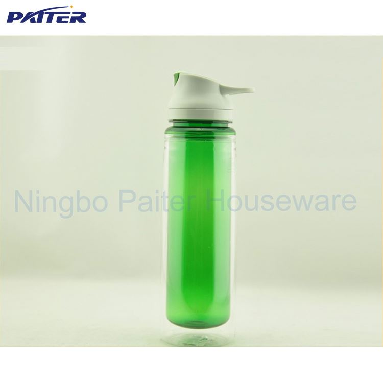 Good Quality BPA Free double wall Water Bottle / Double wall Tritan bottle / Plastic Sports Bottle