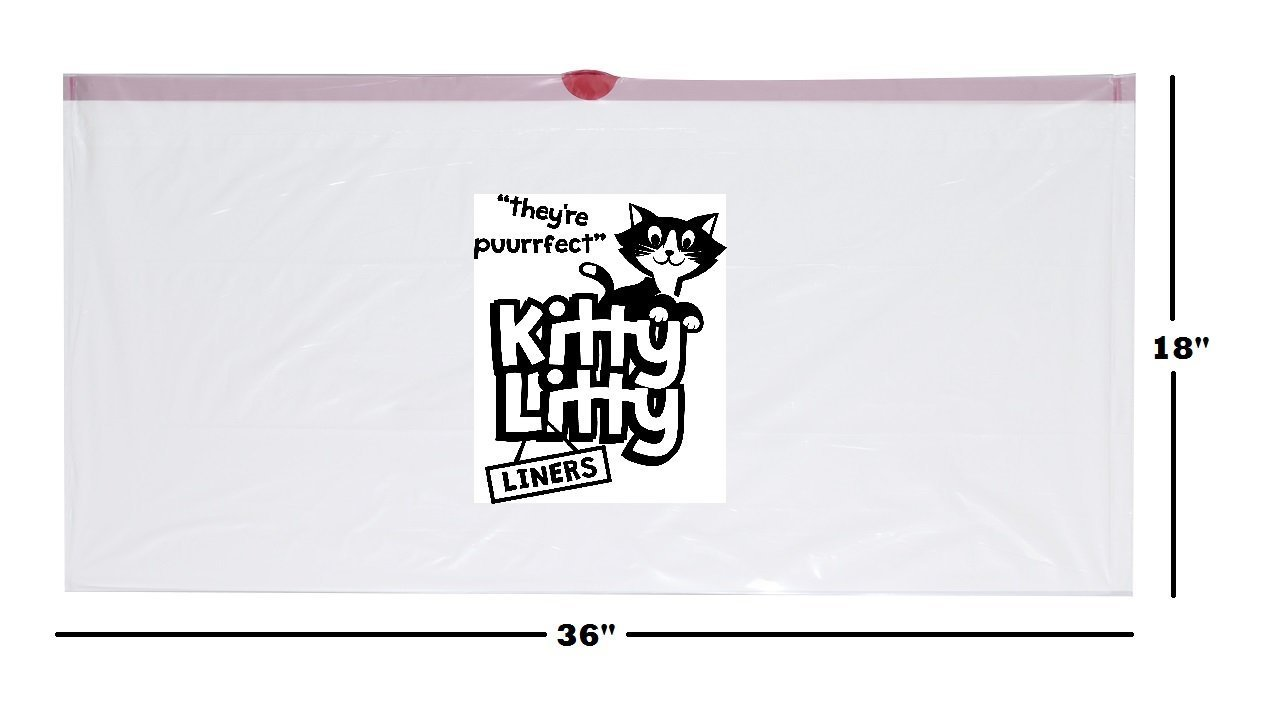 Custom logo plastic scented cat litter liner bag/cat waste bag