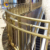 Custom metal polishing modern stainless steel staircase railing