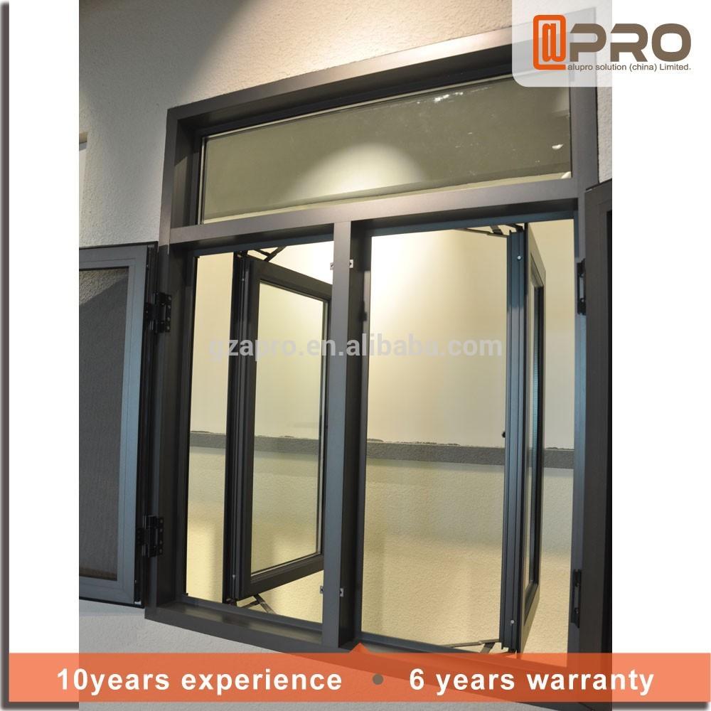 Jard n dise o de aluminio perfil del marco ventanas - Precio cristal ventana ...