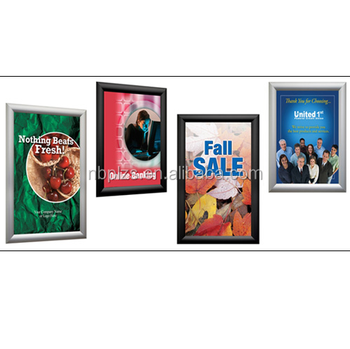 Wall Mounted Frame For Public Poster Snap Frame Wholesale In Size ...