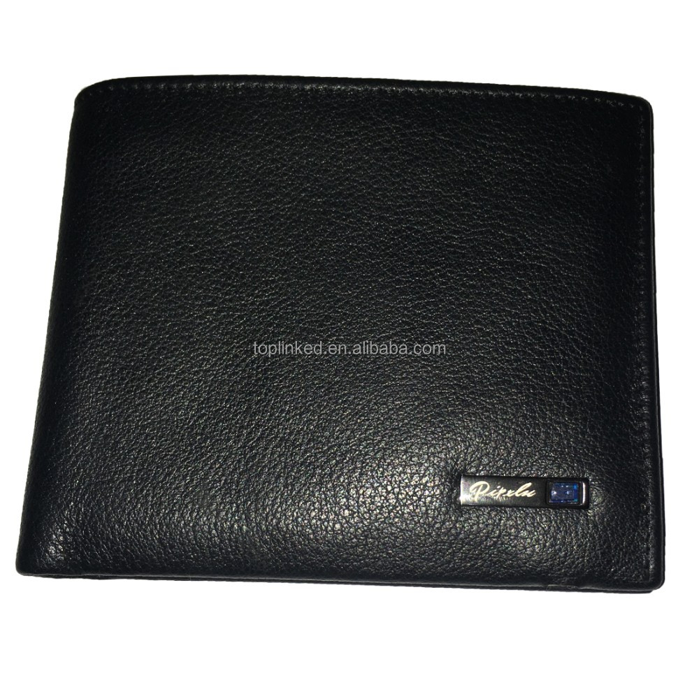 Intelligent wallet with chip bluetooth alarm mobile connection GPS wallet pocket wallet for men