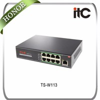 ITC WiFi Easy to operating 3 port mini ethernet switch board,32 port ethernet switch