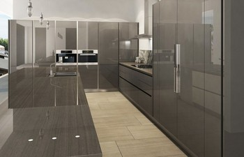 Black Lacquer Kitchen Cabinets 2017 modern stylish black lacquer welbom china kitchen cabinet