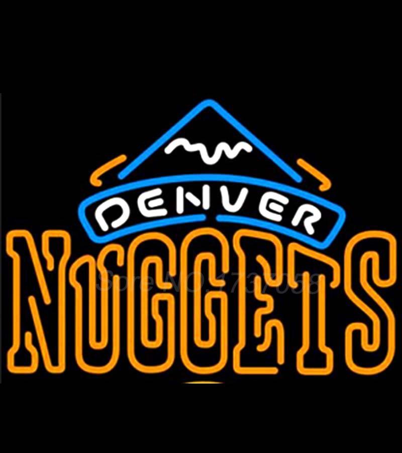 Denver Nuggets Neon Beer Sign Store Display Avize Neon
