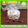 biodegradable cardboard paper tube round tin shape cosmetic use