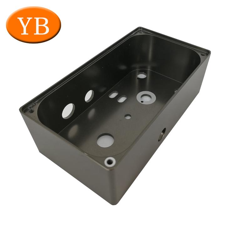 Custom Extruded Aluminum Enclosure For Electronics aluminum box case