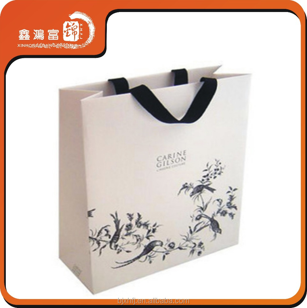 luxury paper gift bags free samples made in china