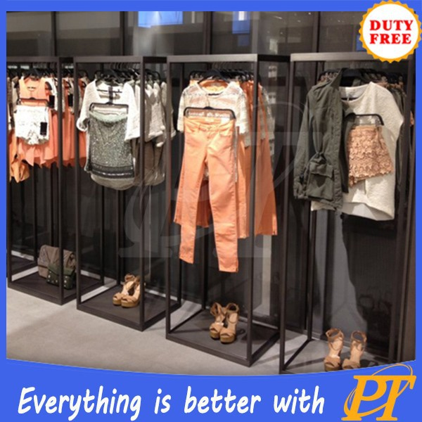 Wood/metal Wholesale Clothing Store Shop Fitting Display ...