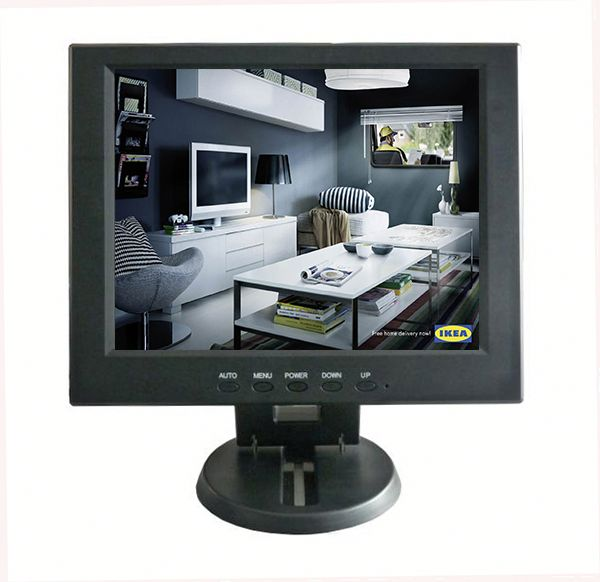 12 Inch Lcd Video Monitor 12 volt dc lcd monitor for computer use