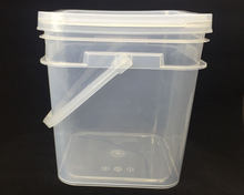 PP Plastic Type and Eco-Friendly Feature plastic square bucket