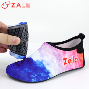 ZALE Water Shoes Women's Men's Outdoor Beach Swimming Aqua Socks Quick-Dry Barefoot Shoes Surfing Yoga Pool Exercise