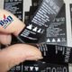 High Grade sewable labels and stick on name labels and woven labels cheap for clothing