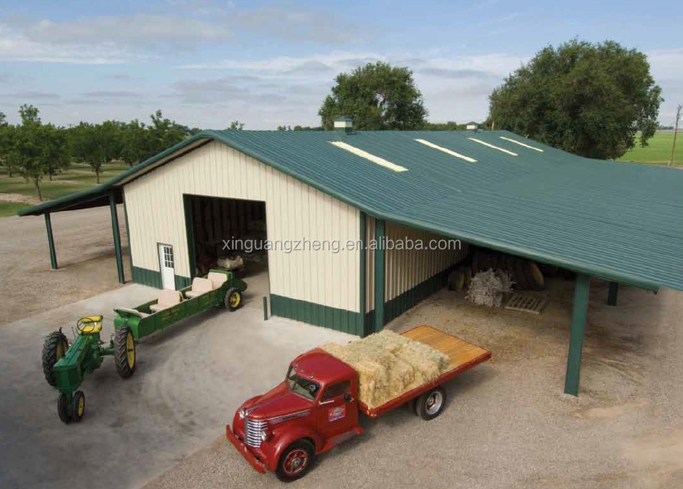 light steel structure cheap building prefabricated small warehouse