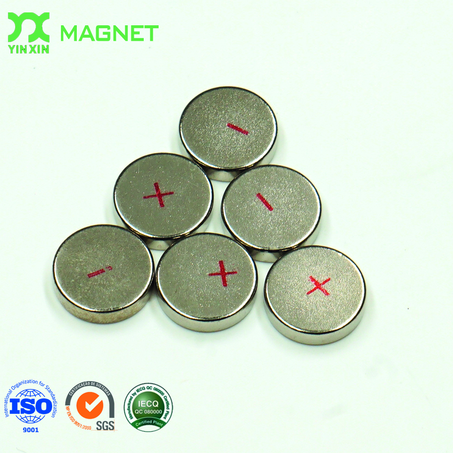 triangle neodymium strong magnetic strips mobile phone magnet for clothing