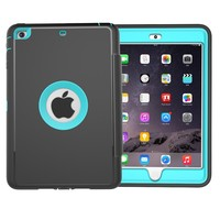 Best Selling For iPad Mini 3 2 1 Case Soft Leather Kids Tablet PC Case Cover With Stand
