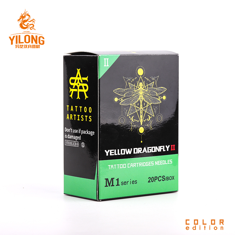 Yilong kit sterile tattoo needles supply for tattoo machine-29