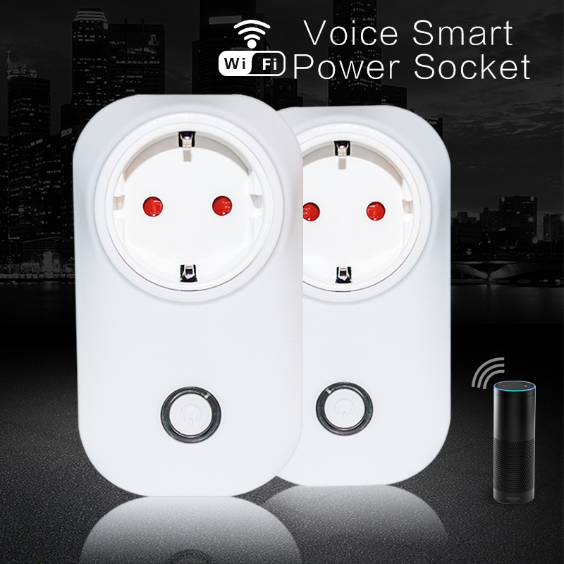Smart Home Alexa Cheap Smart Plug Switch WiFi Enable Plug With Fast Configuration
