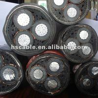 Real Estate Purpose PVC/XLPE Insulated Armoured Aluminum Electrical Cable