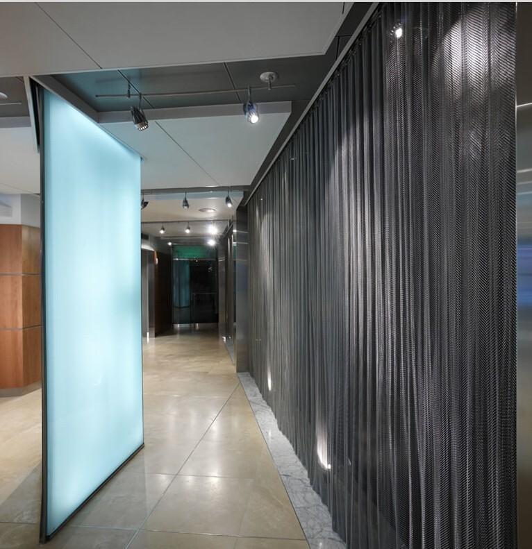 2016 Hot Sale Decorative Metal Mesh Curtains/Chain Curtain Room Divider