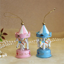 FQ brand wood craft wooden christmas tree ornaments