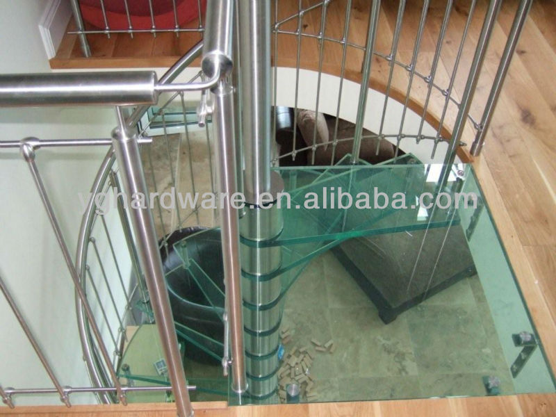Ready Made Stairs Yg 9002 24   Buy Glass Spiral Stairs,Indoor Spiral Stairs,Glass  Railings Spiral Stairs Product On Alibaba.com