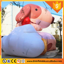 Giant Inflatable promotional dog for park decoration