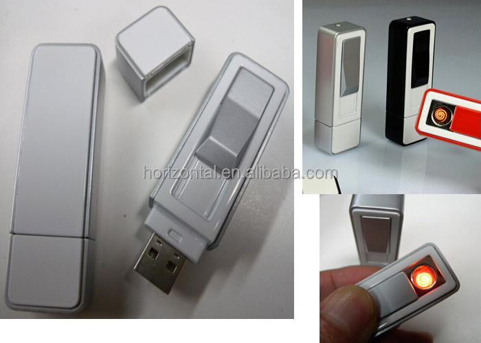 2016 hot selling 4gb OEM logo 2.0 interface metal cigarette lighter usb flash drive