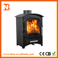High efficiency fireplace cast Iron wood burning stoves