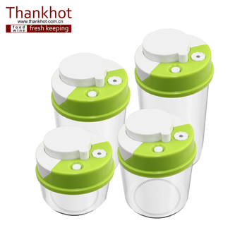 Home And Kitchen Cookie Vacuum Container Tea Coffee Bean