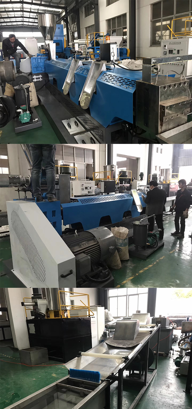 ABS Plastic Resin Granulating/Pelletizing/Making Machine