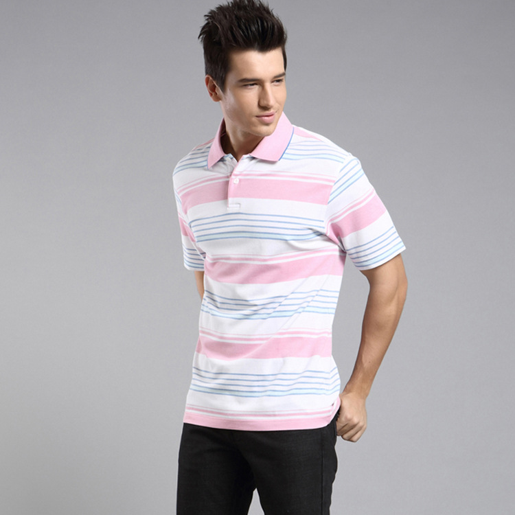 Free Shipping High Quality 100%Cotton Mens Polo Formal T Shirt 46/48/50/52