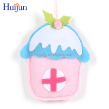 New fashion colorful mini room derocation christmas hanging ornament
