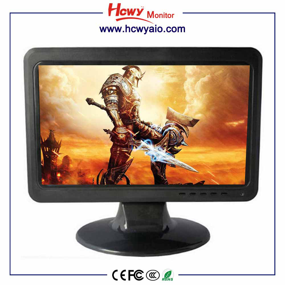 12 inch Desktop led computer monitor 12inch pc pos led monitor 12'' wide led monitor