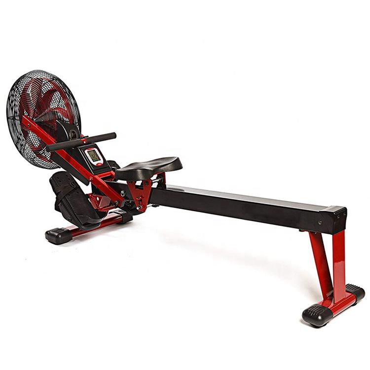 ออกแบบใหม่ในร่ม Rower Foldable Air ความต้านทานการออกกำลังกายการออกกำลังกายพายเครื่อง