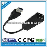 1000Mbps USB3.0 to RJ45 Lan ethernet adapter