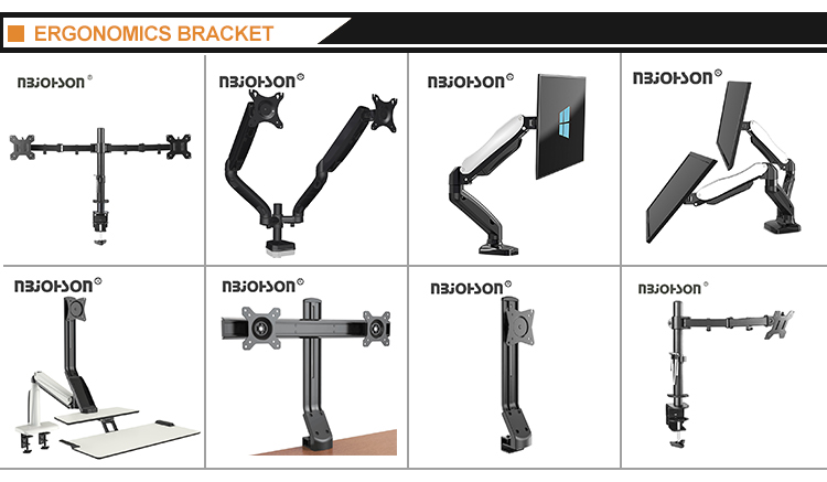 (LB-T011) High Quality 360 Degree Swivel LCD TV Monitor Mount Arm Brackets