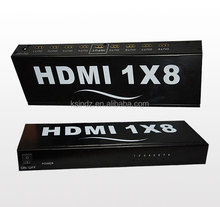HDMI splitter : 3D HDMI Splitter 1X8 Support the real 1.3b