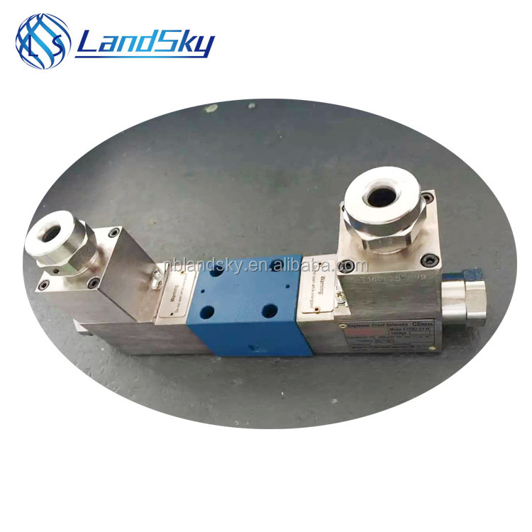 LandSky GDFW-02-3C11-DC24 co2 on off three port diverter explosion isolation solenoid directional control valve